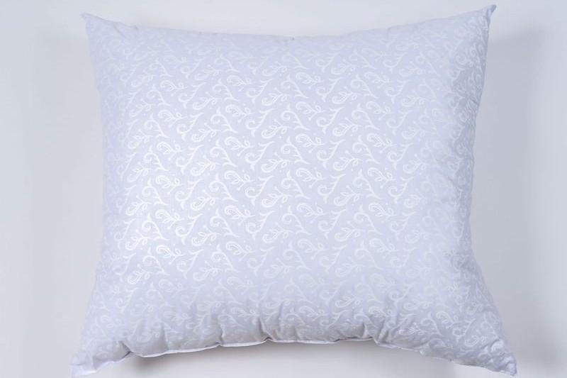 biała poduszka bawełniana