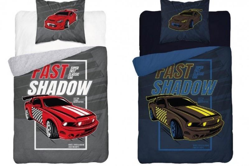 Pościel dziecięca licencyjna - Auto Fast Shadow