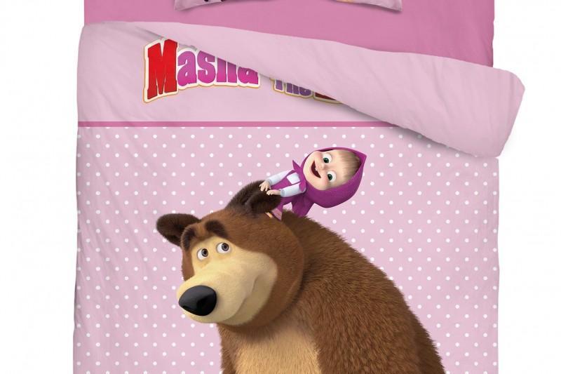 Pościel dziecięca licencyjna - Masha