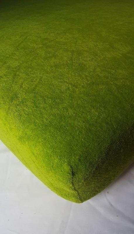Prześcieradło ciemnie zielone