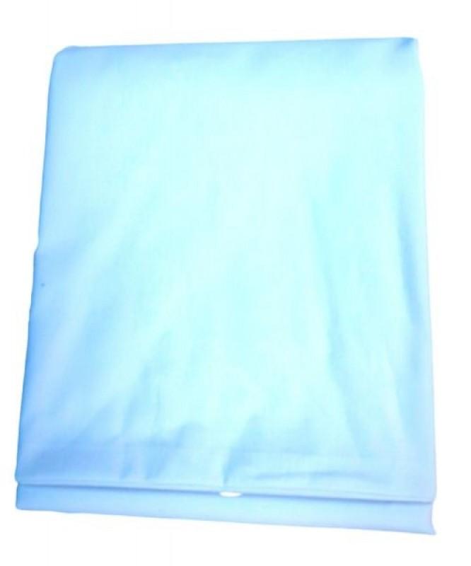 Prześcieradło bawełniane błękitne
