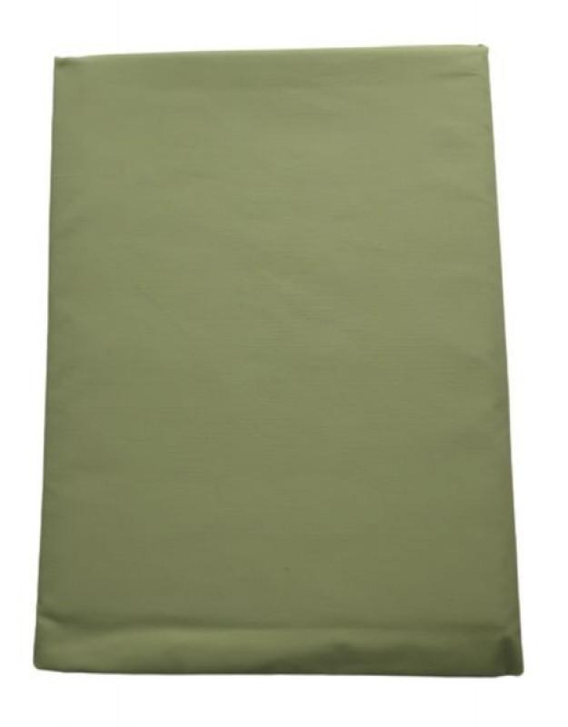 Prześcieradło bawełniane zielone