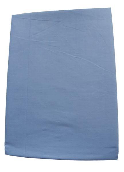 Prześcieradło bawełniane niebieskie